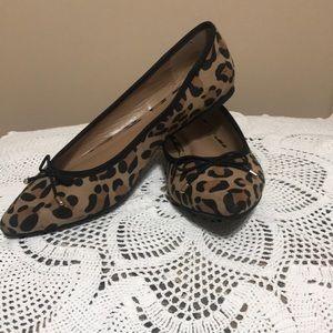 Merona Leopard print size 7.5 flats